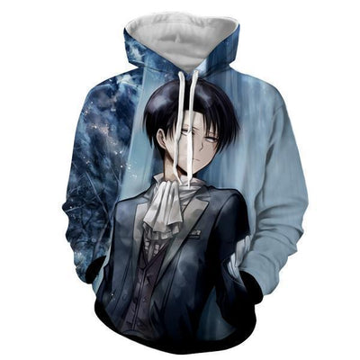Levi Ackerman Attack On Titan 3D Hoodie