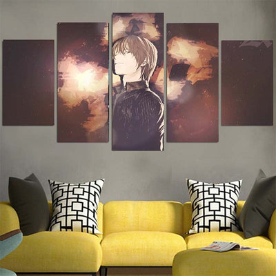 Light Yagami Canvas -Death Note 3D Printed Canvas