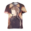Light Yagami T-Shirt - Death Note 3D Printed T-Shirt