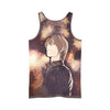 Light Yagami Tank Top - 3D Printed Death Note Tank Top