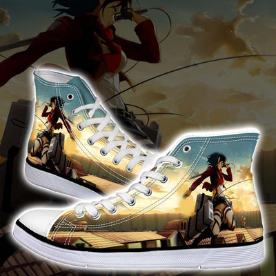 Mikasa Ackerman Sky Fighting - 3D Printed Attack On Titan Shoes