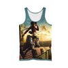 Mikasa Ackerman Sky Fighting Tank Top - 3D Printed Attack On Titan Tank Top
