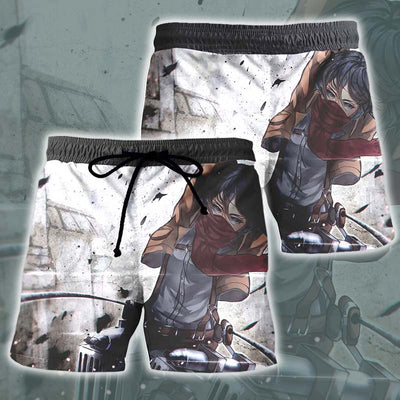 Mikasa Scout Regiment Uniform Shorts - Attack on Titan Shorts
