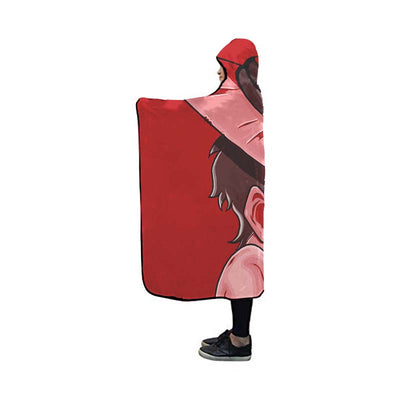 Monkey D. Luffy Hooded Blanket - One Piece 3D Printed Hooded Blanket