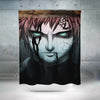 Naruto Shippuden Gaara Shower Curtain - 3D Printed Naruto Shower Curtain