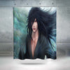 Madara Uchiha Red Eyes Shower Curtain - 3D Printed Naruto Shower Curtain