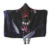 Naruto Kabuto Yakushi with purple snakes - 3D Printed Naruto Hooded Blanket