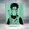 Obito Uchiha Bleeding From Eyes Shower Curtain - 3D Printed Naruto Shower Curtain