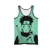 Obito Uchiha Bleeding From Eyes - 3D Printed Naruto Tank Top
