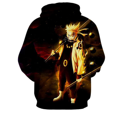 DOPE STYLE SAGE OF SIX PATH NARUTO SAGE MODE HOODIE