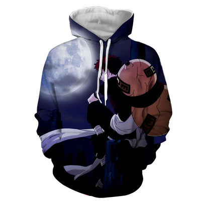 Naruto Young Garaa The Sand Lonely Ninja Artwork Hoodie