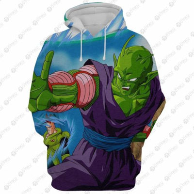 New Piccolo Dragon Ball Z Hoodie - 3D Printed Hoodie