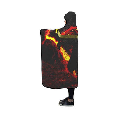 Dracule Mihawk Hooded Blanket - One Piece 3D Printed Hooded Blanket