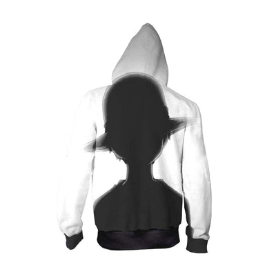 One Piece Hoodie - Shadow of young luffy - Zip Up Hoodie & T-Shirt