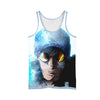 Kuzan Ex Admiral Aokiji Tank Top - 3D Printed One Piece Tank Top