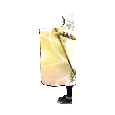 Usopp Hooded Blanket - One Piece 3D Printed Hooded Blanket