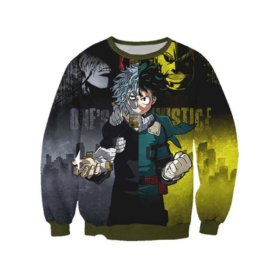 One-Justice-Kv Sweatshirt - My Hero Academia 3D Printed Sweatshirt