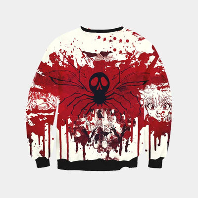 Phantom Troupe Blood Sweatshirt - Hunter x Hunter 3D Printed Sweatshirt