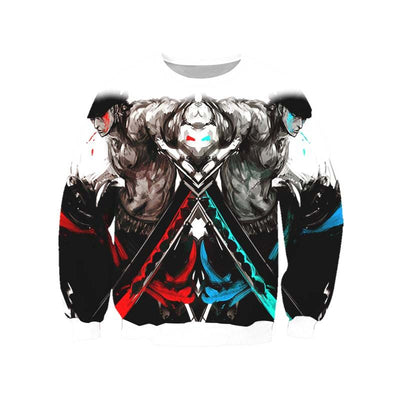 Roronoa Zoro Sweatshirt - One Piece 3D Printed Sweatshirt