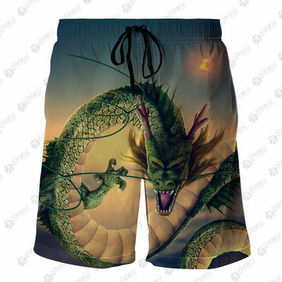 SUPER SHENRON Dragon Ball 3D Printed Shorts