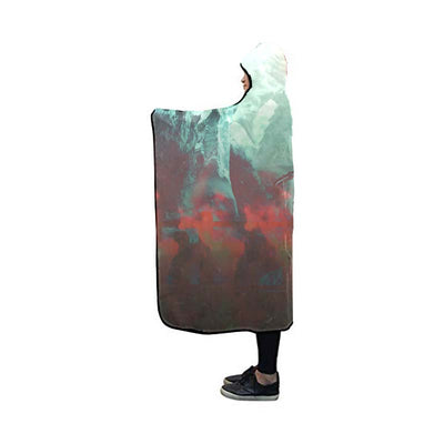 Sabo Cool Hooded Blanket - One Piece 3D Printed Hooded Blanket