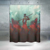Sabo Shower Curtain - One Piece 3D Printed Shower Curtain