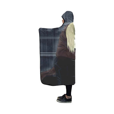 Sad Edward Hooded Blanket - Full Metal Alchemist 3D Printed Hooded Blanket