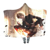 Sanji vinsmoke Hooded Blanket - One Piece 3D Printed Hooded Blanket