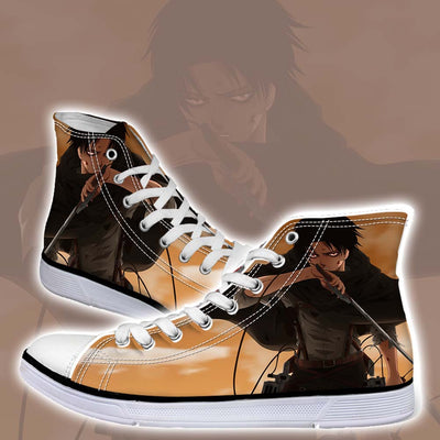 Levi In Tattered Up Scout - 3d Printed Attack On Titan Shoes