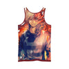 Shoto Todoroki Fire Tank Top - My Hero Academia 3D Printed Tank Top