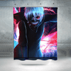 Tokyo Ghoul Shower Curtain - Kaneki Ken Colorful 3D Printed Curtain