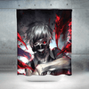 Tokyo Ghoul Shower Curtain - Kaneki Ken Blood 3D Printed Curtain