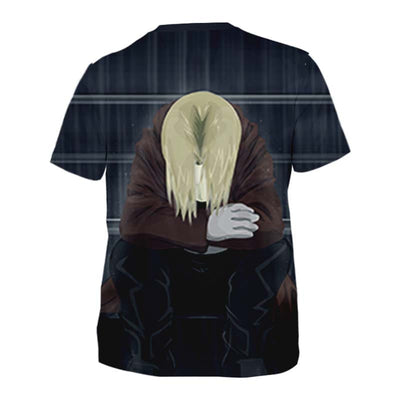 Sad Edward T-Shirt - Full Metal Alchemist 3D Printed T-Shirt