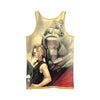 Edward & Alphonse Tank Top - 3D Printed Full Metal Alchemist Tank Top