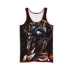 Alphonse Elric Sitting In Dark Night Angry Tank Top - 3D Printed Full Metal Alchemist Tank Top