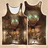 Eren Yeager Transforming Into Full Titan - 3D Printed Attack On Titan Tank Top