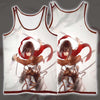 Mikasa Ackerman In Her Omni - 3D Printed Attack On Titan Tank Top