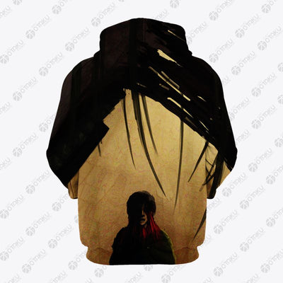 The Female Titan Anime - Attack On Titan 3D Printed Hoodie