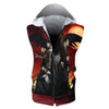 Yagami Light Team Hooded Tank - Death Note 3D Printed Sleeveless Hoodie