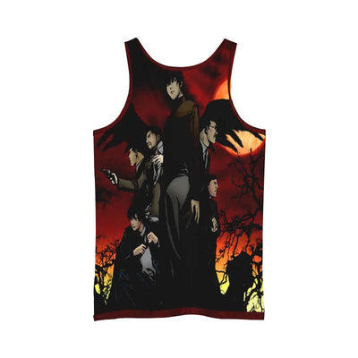 Yagami Light Team Tank Top - 3D Printed Death Note Tank Top