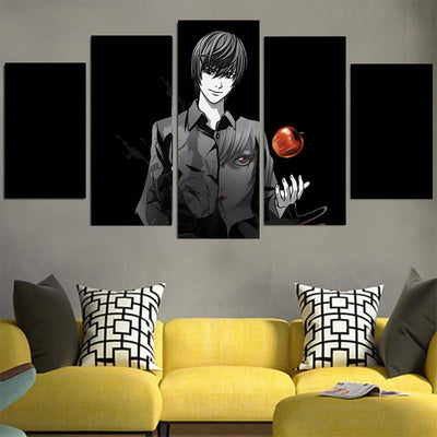 Yagami in Darkness Canvas - Death Note 3D Printed Canvas