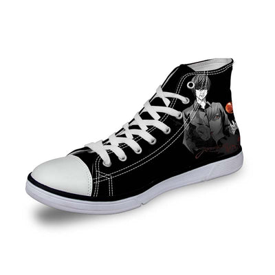 Yagami in Darkness Shoes - Death Note 3D Printed Shoes