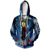 Edward and Alphonse Zip Up Hoodie - Full Metal Alchemist Zip Up Hoodie