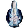 Edward meditating Zip Up Hoodie - Full Metal Alchemist Zip Up Hoodie