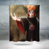 Pain Standing In Rain Shower Curtain - 3D Printed Naruto Shower Curtain