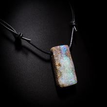 Load image into Gallery viewer, Opal on leather - 17