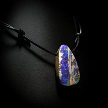 Load image into Gallery viewer, Opal on leather - 21