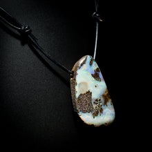 Load image into Gallery viewer, Opal on leather - 14