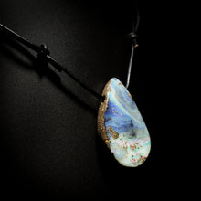 Load image into Gallery viewer, Opal on leather - 15