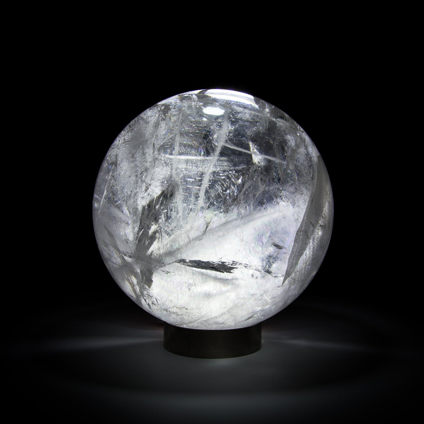Quartz Clear Sphere